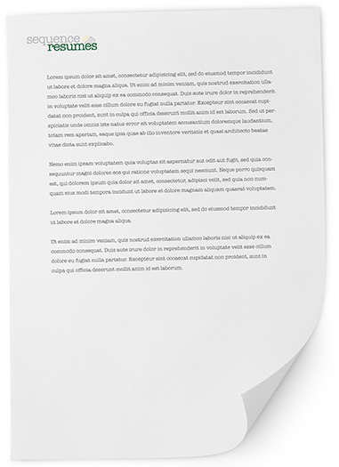 Sequence Resume Writing Service
