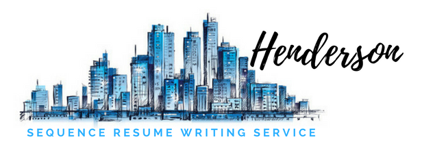 Henderson - Resume Writing Service and Resume Writers